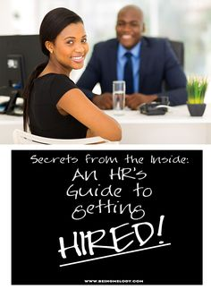 www.beingmelody.com | Secrets from the Inside: An HR's Guide to Acing the Job Interview and Getting Hired! | http://www.beingmelody.com