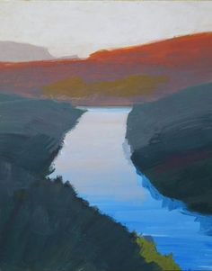 Jamie Chase_ Figurative and Landscapes_ Matthews Gallery - just beautiful