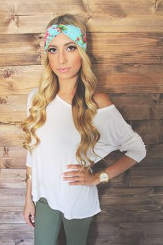 Holdensmaaa Turban Headband... Cute headbands my friend in Cali makes :) so cute
