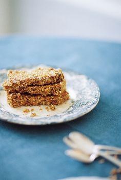 Quinoa Granola healthy Bars with Almond butter
