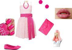 """Pink pink"" by shinebrightlikeadiamondd ❤ liked on Polyvore"