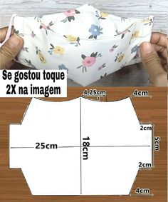 Sewing Aprons, Sewing Clothes, Diy Clothes, Easy Face Masks, Diy Face Mask, Sewing Hacks, Sewing Projects, Mouth Mask Design, Diy Mask