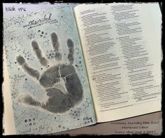 A little #mixedmedia art on a blank page in my Crossway ESV Journaling Bible, Interleaved Edition (every other page is blank). (I like to use this journaling Bible, with the blank pages for journaling; however, in all of my Bibles, I use transparent media so that the words are always readable.) Isaiah 49:16 - I am inscribed on the palm of God's hand—that's a pretty great place to be! #BibleArtJournaling #BibleArt #FaithArt #IllustratedFaith #crosswayesvjournalingbible #interleavededition My Bible, Bible Art, Blank Page, Illustrated Faith, Doodle Art, Journaling, Palm, Mixed Media, My Arts