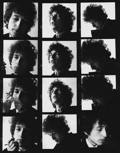 """all good things come in threes..."" Dylan."