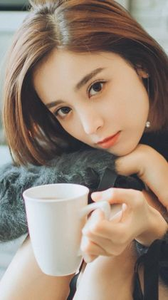 #GuliNazha #Nazha #古力娜扎 Pretty Asian, Beautiful Asian Women, China Girl, Girls Selfies, Le Jolie, Girl Short Hair, Ulzzang Girl, Asian Woman, Beauty Women
