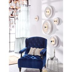 Stuckleuchte Stuck, Accent Chairs, Armchair, Furniture, Super, Home Decor, Products, Light In The Dark, Ceiling Lights