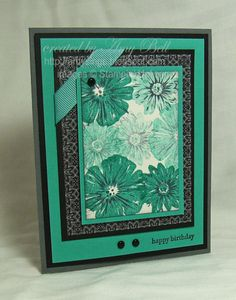 Greenhouse Garden Stampin Up!