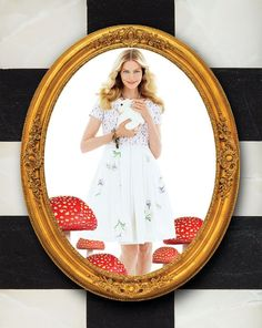 """Create a whimsical and timeless look with this ultra-feminine dress from Madcap Cottage, perfectly accessorized with Heidi Daus jewelry from HSN's collection inspired by Disney's """"Alice Through the Looking Glass."""""""