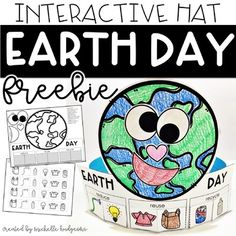 Looking for an Earth Day sort? Download this FREE interactive hat! Students will sort 8 items by: -reduce -reuse -recycle Students will glue the items under the correct column and wear their hats to celebrate the day and their learning!