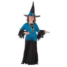 Disfraz Infantil Bruja Azul