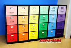 Metal filing cabinet - first thing is to have space for file and to have as many file cabinets as you need. A filing cabinet is needed for . Filing Cabinet Organization, Classroom Organization, Filing Cabinets, Teacher Storage, Filing Storage, Office Cabinets, Organization Ideas, Classroom Furniture, Classroom Decor