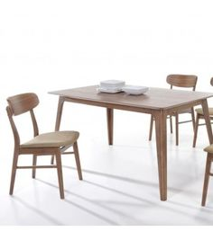 Ξύλινο Τραπέζι  Καρυδί Almere 150x90x75cm