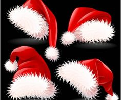 Kerst kerstmuts vector