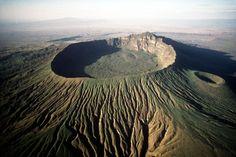 Mt. Longonot in Naivasha Kenya.  Trekking and hiking places.