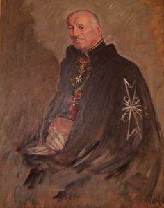 Prince Jean-Louis de Faucigny-Lucinge #OrderofMalta #SMOM Malta, Knights Hospitaller, Knights Templar, Pictures To Draw, Drawing Pictures, Kingdom Of Jerusalem, Military Orders, Saint Jean, Medieval