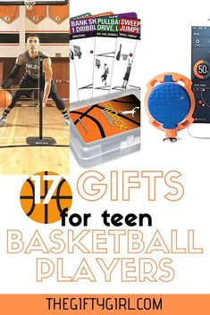 If you have a basketball playing teen, here are gifts that will help them play better, have fun and learn more about their basketball heroes. These would be perfect for birthday gifts or Christmas Gifts. Unique Gifts For Girls, Gifts For Teen Boys, Tween Gifts, Gifts For Teens, Kids Gifts, Gifts For Family, Fun Gifts, Basketball Boyfriend, Basketball Gifts