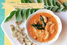 Ruchik Randhap (Delicious Cooking): Bibbe Sagle (Konkani Style Tender Cashew Nut Curry) ~ Summer Recipe!