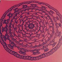 #mandala #art #handmade #flower #red #original #mandalas #pen #design #mandalaart #drawing #zen #zentagle #doodle #inspiration #mandalalove #mandalazentagle #zentagleart #zentaglelove