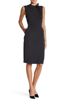 13a681bf70e Mock Neck Tie Sheath Dress by Alexia Admor on  nordstrom rack Mock Neck