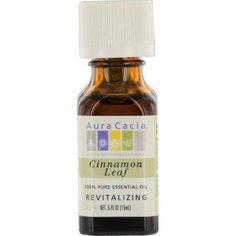 Essential Oils Aura Cacia Cinnamon Leaf-essential Oil .5 Oz By Aura Cacia