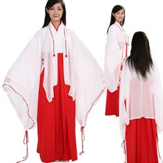 Miko Shrine Maiden. Seriously considering it for Halloween.