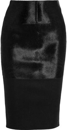#net-a-porter.com         #Skirt                    #Victoria #Beckham�|�Calf #hair-paneled #felt #pencil #skirt�|�NET-A-PORTER.COM                         Victoria Beckham�|�Calf hair-paneled felt pencil skirt�|�NET-A-PORTER.COM                               http://www.seapai.com/product.aspx?PID=854791