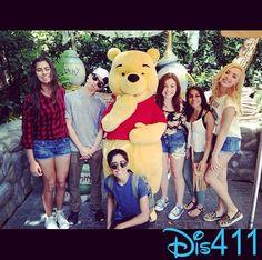 Karan Brar had fun at Disneyland Resort with Peyton List, Cameron Boyce and More April 13, 2014