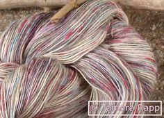 Wolle & Garn - PixieFridaySeries 6 - handgefärbtes Garn - Alpaka - ein Designerstück von HerzKoenigin bei DaWanda