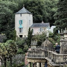 Portmeirion again by CharmingPhotography.deviantart.com on @deviantART