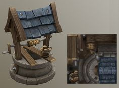 Jimmy Livefjord Concept Draw, Game Concept Art, 3d Assets, Game Assets, Environment Concept Art, Environment Design, 3d Design, Game Design, Isometric Art