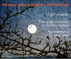 There are many ways of honouring the past and thanking our ancestors on Samhain. Many of these rituals and traditions now show up as part of Halloween celebrations, but they are rooted in the ancie...