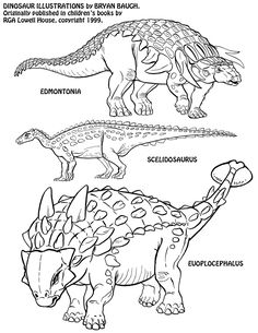 Dinosaurs 12 by BryanBaugh on DeviantArt