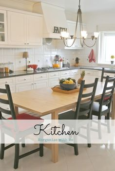 Organizing a kitchen to make it work for you!