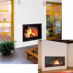 Unifocus & Omegafocus double fronted in built fire