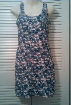 H & M DIVIDED WOMEN FLORAL DRESS SIZE 8