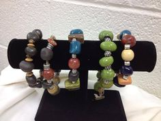 Bracelets made at the Arc of High Point Art Programs, High Point, Bracelet Making, Creative Art, Beaded Bracelets, Jewelry, Jewlery, Jewerly, Pearl Bracelets