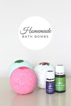 Make your own bath bombs at home using YL essential oils | Kate Inspired