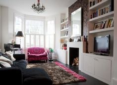 how to decorate a small space | hallway the deception of more space found in the reflection will not ...