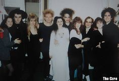 The Cure and wives/girlfriends