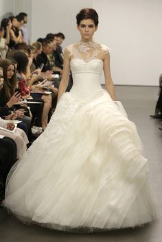 Vera Wang simply takes one's breath away with this romantic stunner of a wedding gown.  Enjoy RUSHWORLD boards, WEDDING GOWN HOUND, UNPREDICTABLE WOMEN HAUTE COUTURE and STALKING YOUR ART DOPPELGANGER. Follow RUSHWORLD! We're on the hunt for everything you'll love!