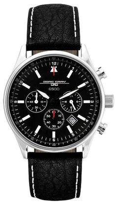 Jorg Gray Men's 6500 Series Chronograph – As Worn By President Obama >> $394.90 <<   Your #1 Source for Watches and Accessories
