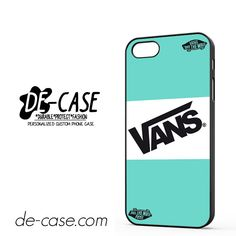 Vans Light Blue Style DEAL-11630 Apple Phonecase Cover For Iphone SE Case