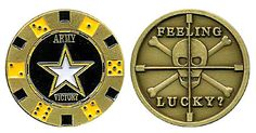 Army Chip Holder Coin Item # CC-718