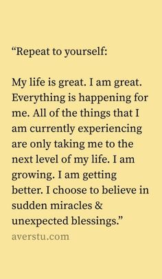 We all know that I LOVE affirmations. It may sound crazy, I know, but I swear to you that positive affirmations have really enriched and blessed … Positive Affirmations Quotes, Affirmation Quotes, Positive Quotes, Self Love Affirmations, Quotes About Positivity, Prosperity Affirmations, Affirmations Success, Affirmations For Women, Morning Affirmations