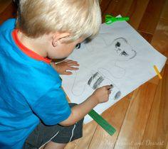 Easy Art Activity for Kids - My Nearest And Dearest