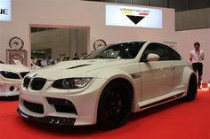 some reason ive always had a thing for BMW M3 White/Back. ooh.(shivers)