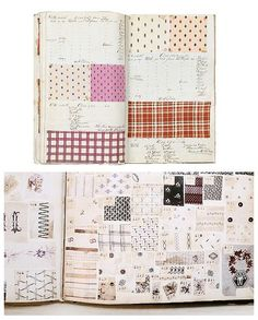 cool textile inspiration mood board by Stripe & Field