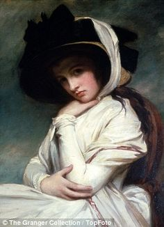 Lady Emma Hamilton, love interest of Horatio Nelson.