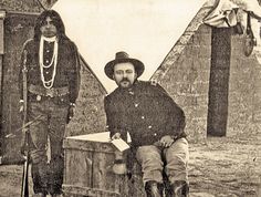 In 1884, Assistant Surgeon W.W.R. Fisher (seated next to an unknown Indian scout) left his pleasant posting at California's Presidio of San Francisco for a more austere existence at Arizona's Fort Apache, which, by comparison to his considerable time campaigning in southern Arizona and northern Mexico, seemed comfortable.