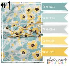Yellow Gray And Robins Egg Blue Color Schemes Pinterest